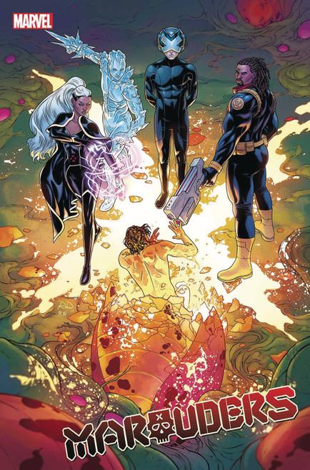 Marvel Comics Marauders #3 Comic Book