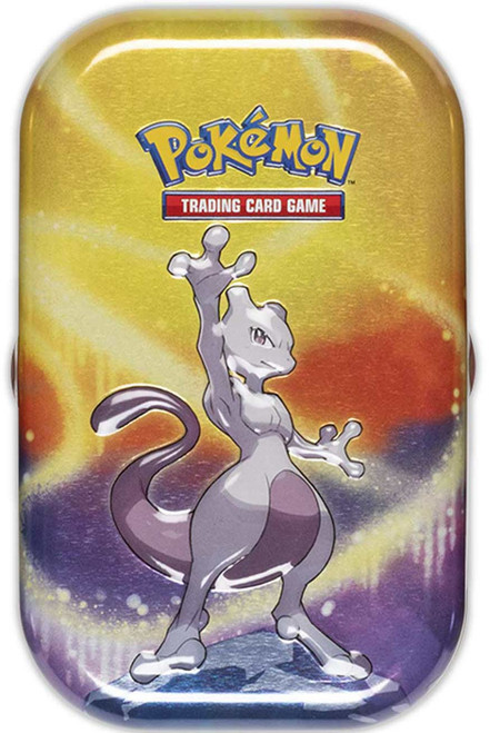 Pokemon Trading Card Game Kanto Power Mewtwo Mini Tin Set