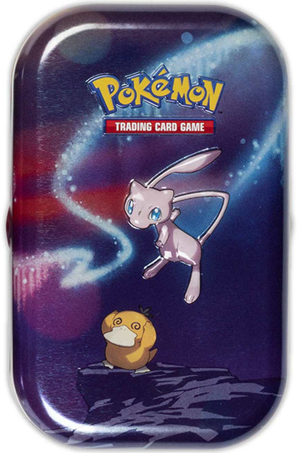 Pokemon Trading Card Game Kanto Power Mew Mini Tin Set