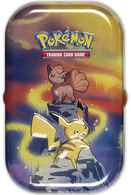 Pokemon Trading Card Game Kanto Power Pikachu & Vulpix Mini Tin Set