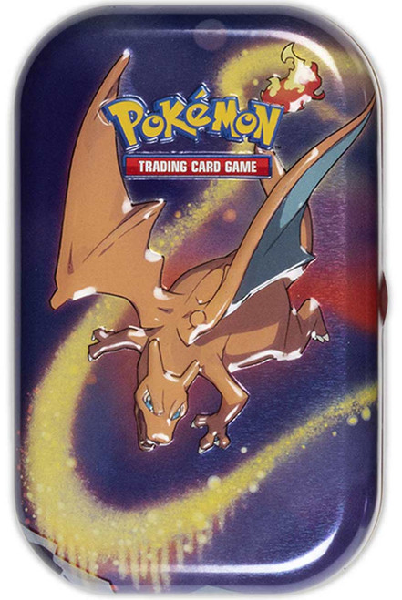 Pokemon Trading Card Game Kanto Power Charizard Mini Tin Set