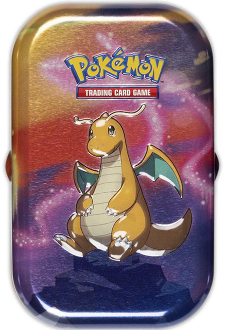 Pokemon Trading Card Game Kanto Power Dragonite Mini Tin Set