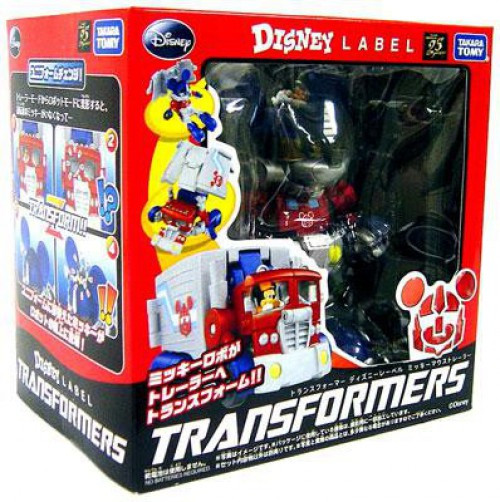 Transformers Disney Label Mickey Mouse Transformer [Color]