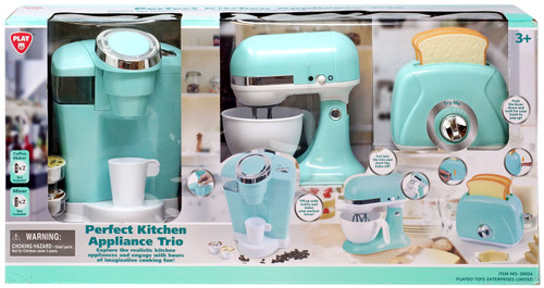 Play Perfect Kitchen Appliance Trio Exclusive Playset [Green]