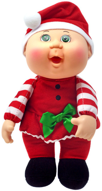 Cabbage Patch Kids Cuties Holiday Helpers Scarlett Santa Girl 9-Inch Plush #109