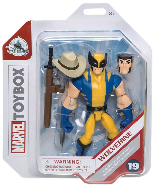 Disney Marvel Toybox Wolverine Exclusive Action Figure