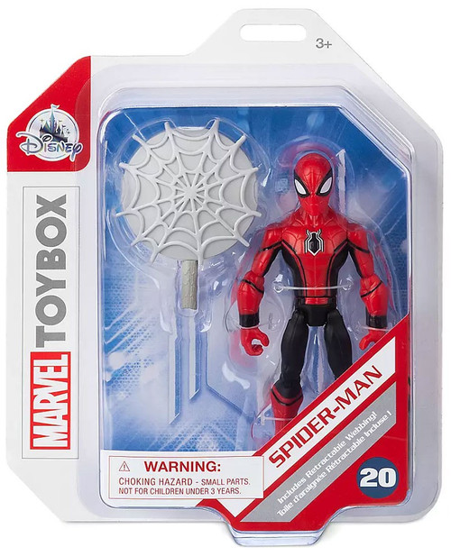 Disney Marvel Toybox Spider-Man Exclusive Action Figure [Red & Black]
