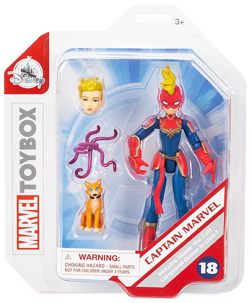Disney Toybox Captain Marvel Exclusive Action Figure