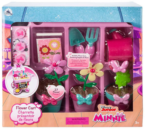 Disney Minnie Mouse Flower Cart Exclusive Playset