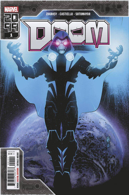 Marvel Comics Doctor Doom 2099 #1 Comic Book