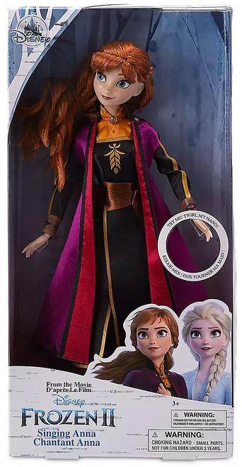 Disney Frozen 2 Singing Anna Exclusive 11-Inch Doll