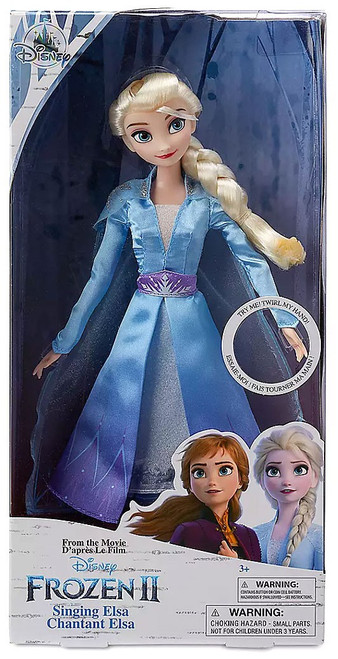 Disney Frozen 2 Singing Elsa Exclusive 11-Inch Doll