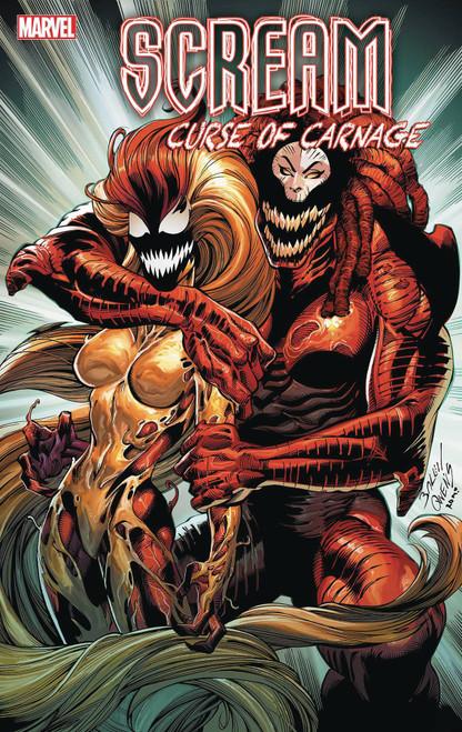 Marvel Comics Scream Curse of Carnage #2 Comic Book