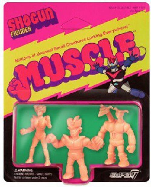 Shogun M.U.S.C.L.E. Mazinger Z, Doublas M2, & Aphrodite A 1.75-Inch Figure 3-Pack [Pack A]