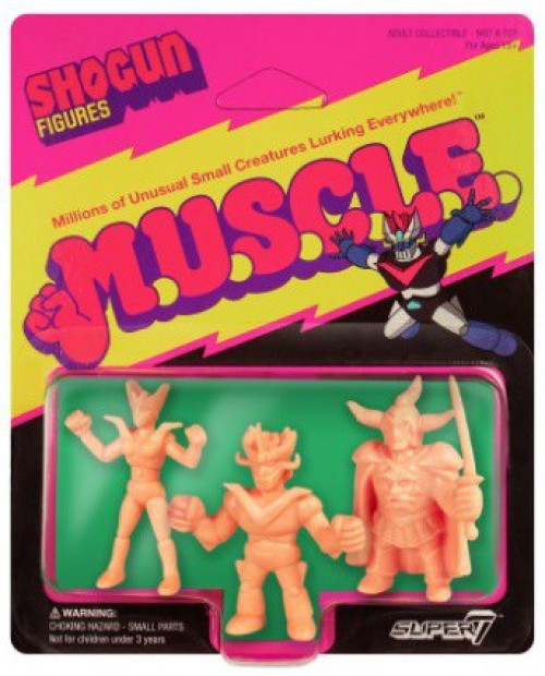 Shogun M.U.S.C.L.E. Great Mazinger, Minerva X, & General of Darkness 1.75-Inch Figure 3-Pack [Pack C]