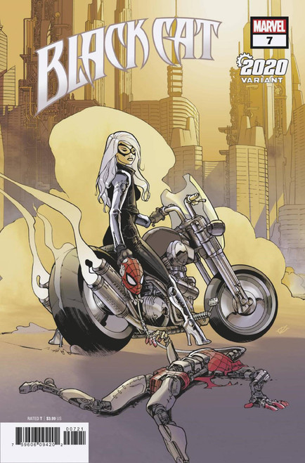 Marvel Comics Black Cat #7 Comic Book [Olivier Vatine 2020 Variant Cover]