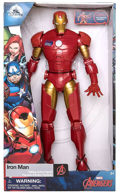 Disney Marvel Avengers Iron Man Exclusive Talking Action Figure