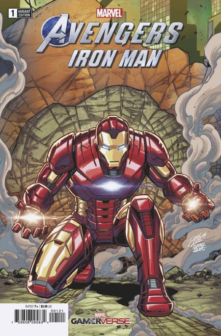 Marvel Comics Avengers #1 Iron Man Comic Book [Ron Lim Variant Cover]