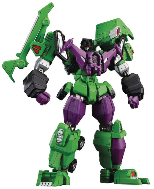 "Transformers Furai Devastator 7.1-Inch 7.1"" Model Kit"