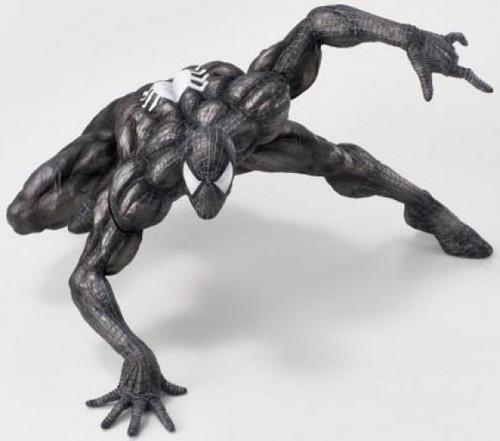 Marvel Sofbinal Spider-Man 7.9-Inch Collectible Soft Vinyl Statue [Black Suit Version]