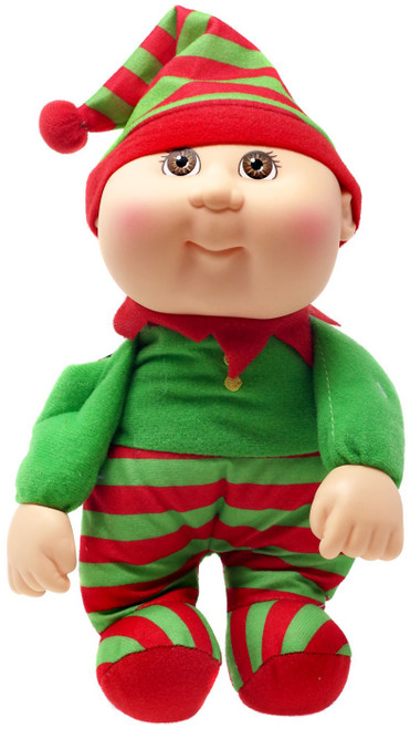 Cabbage Patch Kids Cuties Holiday Helpers Tinsel Elf 9-Inch Plush #108