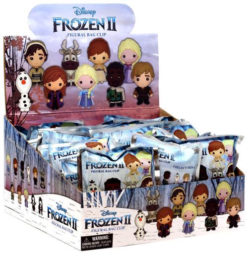 Disney 3D Figural Foam Bag Clip Frozen 2 Mystery Box [24 Packs]