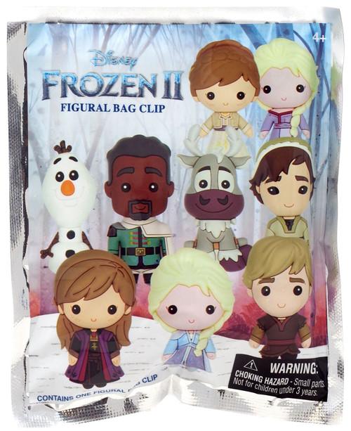 Disney 3D Figural Foam Bag Clip Frozen 2 Mystery Pack [1 RANDOM Figure]