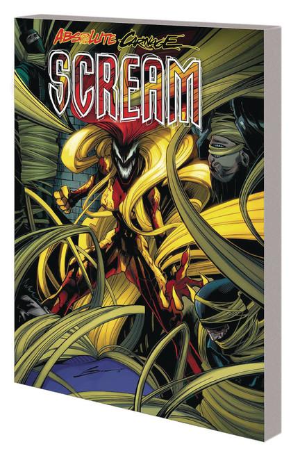 Marvel Comics Absolute Carnage Scream Trade Paperback Comic Book