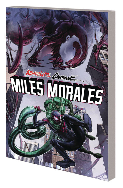 Marvel Comics Absolute Carnage Miles Morales Trade Paperback Comic Book