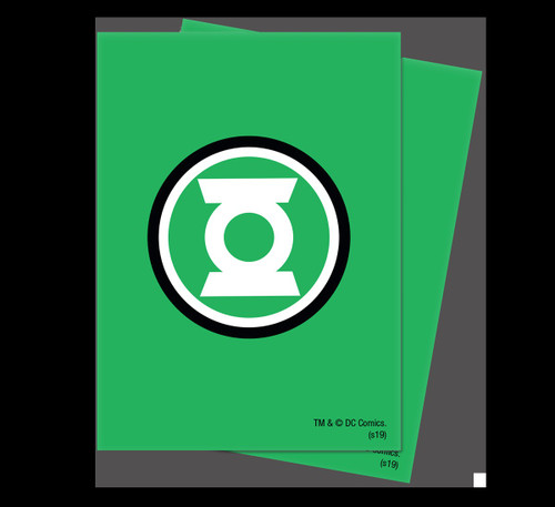 Ultra Pro Justice League Deck Protector Green Lantern Standard Card Sleeves [65 Count] (Pre-Order ships May)