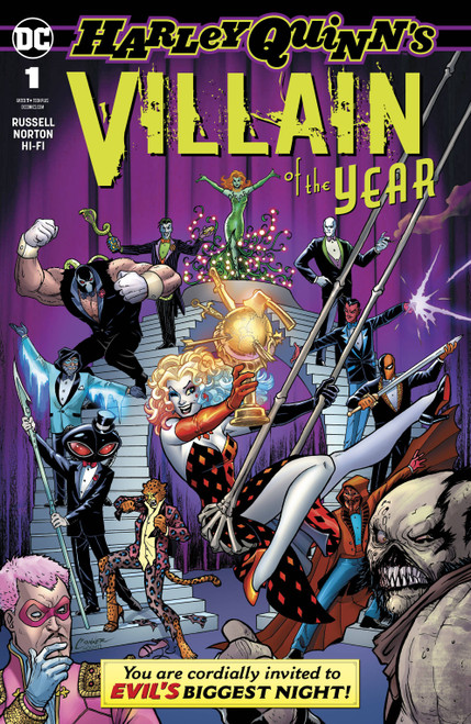 DC Harley Quinn Villain of the Year #1 Comic Book