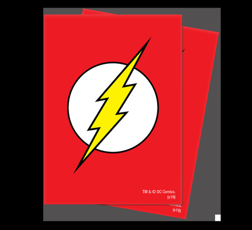 Ultra Pro Justice League Deck Protector The Flash Standard Card Sleeves [65 Count]