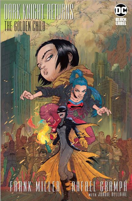 DC Dark Knight Returns #1 The Golden Child Comic Book [Frank Miller]