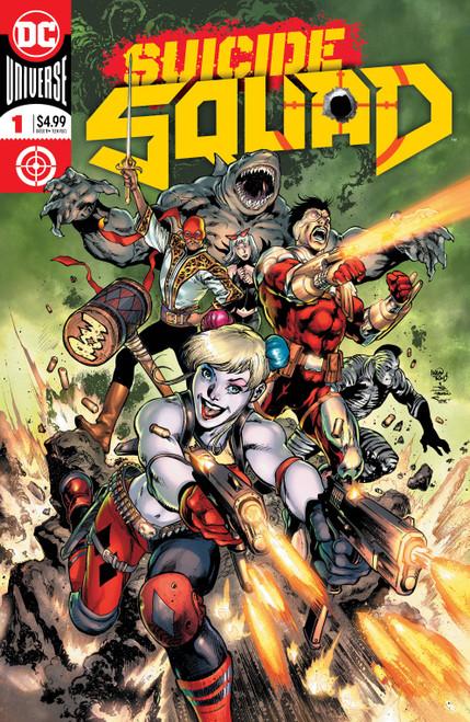 DC Suicide Squad #1 Comic Book