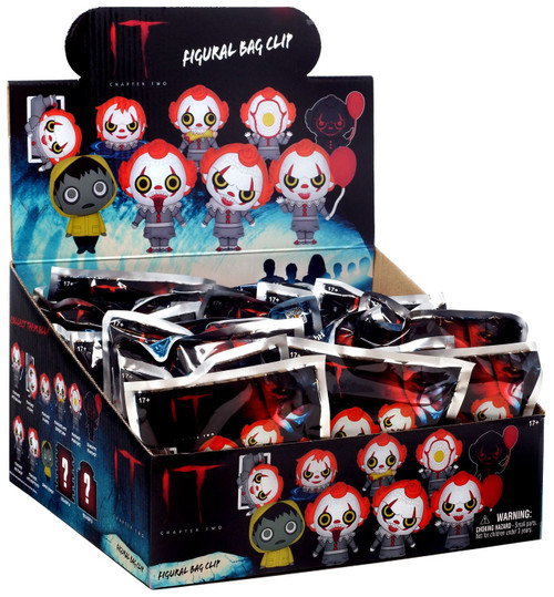 Horror 3D Figural Foam Bag Clip It Chapter 2 Mystery Box [24 Packs]