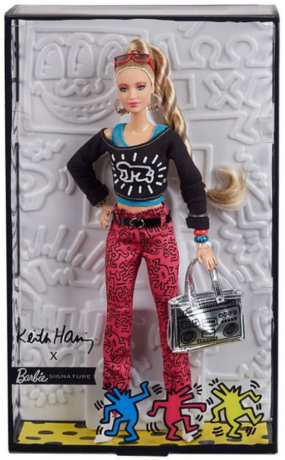 Signature Keith Haring X Barbie Doll