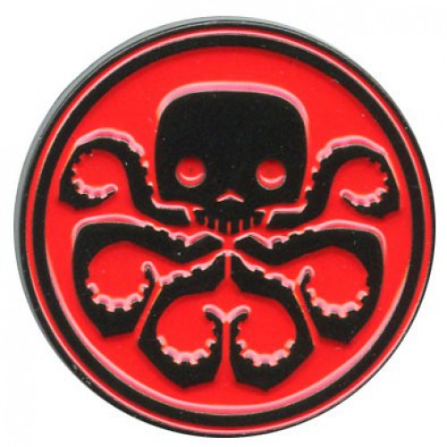 Funko Marvel Collector Corps Hydra Exclusive 2.5-Inch Pin