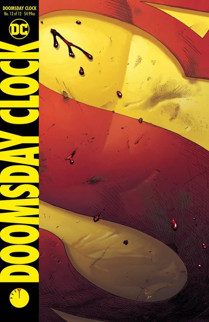 DC Doomsday Clock #12 Comic Book