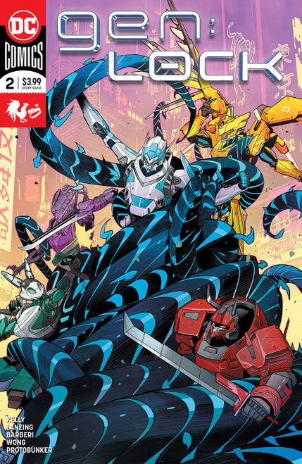 DC Gen:Lock #2 Comic Book