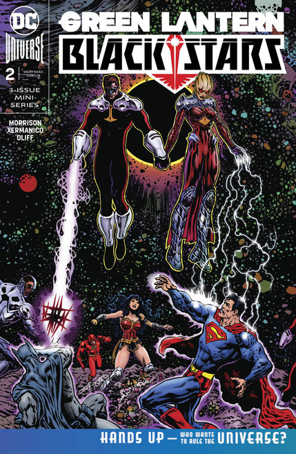 DC Green Lantern Blackstars #2 Comic Book