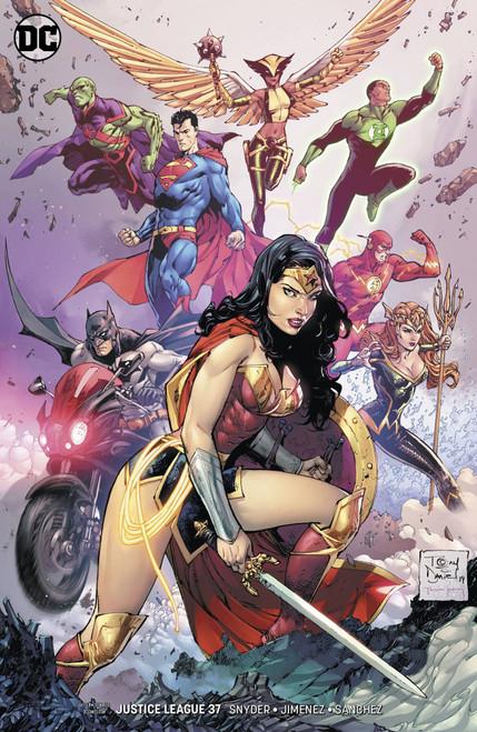 DC Justice League #37 Comic Book [Tony S. Daniel Variant Cover]