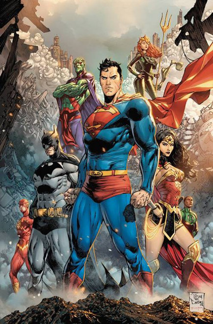DC Justice League #38 Comic Book [Tony S. Daniel Variant Cover]