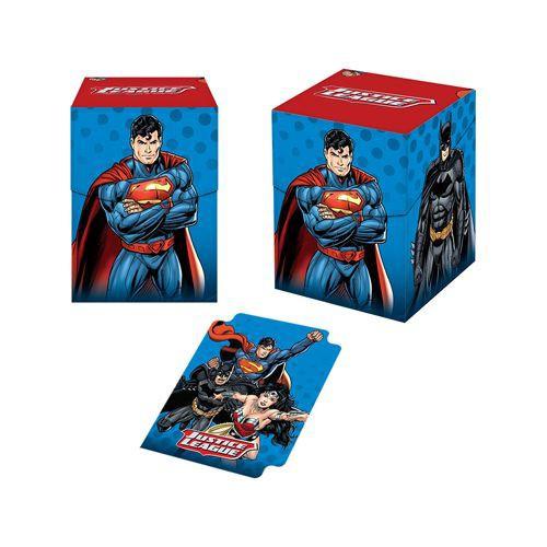Ultra Pro Card Supplies PRO 100+ Justice League Deck Box [100 Count]