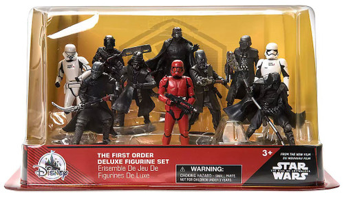 Disney Star Wars The Rise of Skywalker The First Order Exclusive 10-Piece PVC Figure Play Set