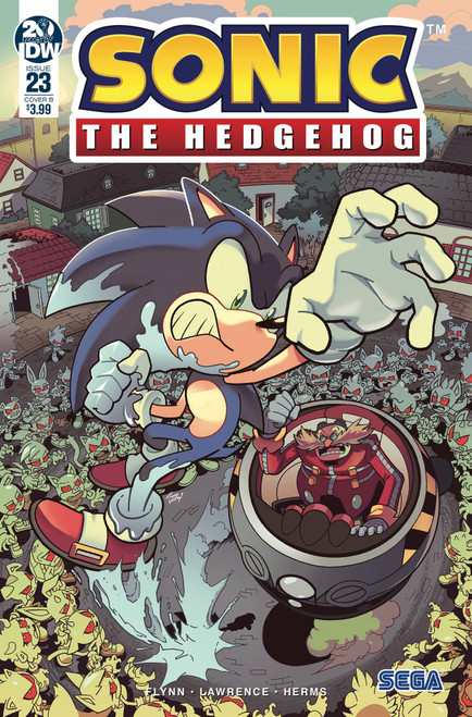 IDW Sonic The Hedgehog #23 Comic Book [Tracy Yardley Cover B Variant]