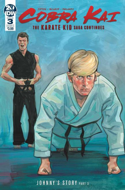 IDW Cobra Kai Karate Kid Saga Continues #3 of 4 Comic Book