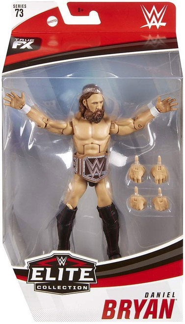 WWE Wrestling Elite Collection Series 73 Daniel Bryan Action Figure [Eco-Friendly Title Belt]