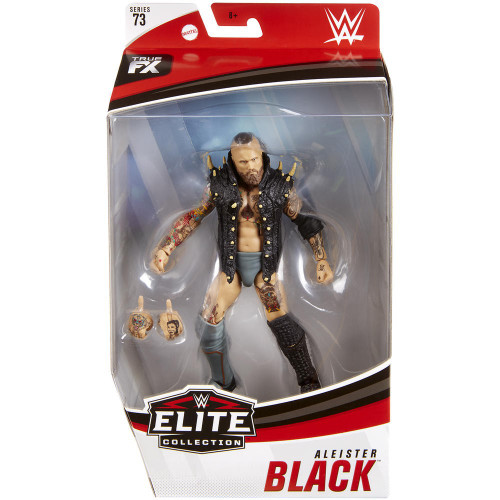 WWE Wrestling Elite Collection Series 73 Aleister Black Action Figure