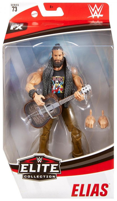 WWE Wrestling Elite Collection Series 73 Elias Action Figure
