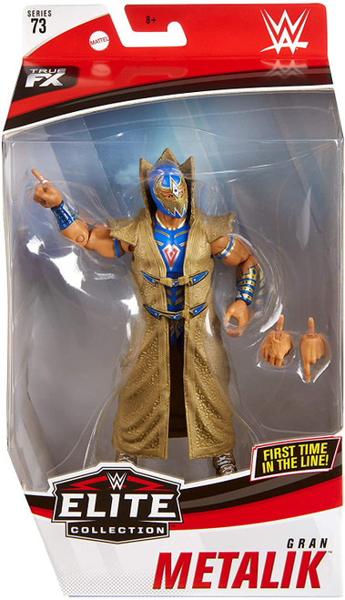 WWE Wrestling Elite Collection Series 73 Gran Metalik Action Figure [Blue Outfit]